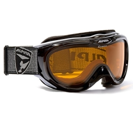 ALPINA Skibrille FreeSpirit, schwarz transparent dlh (black transparent dlh), One size, A7008-131, - 1