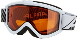 ALPINA Skibrille Smash 2.0 DH, Rahmenfarbe: White, Linsenfarbe: Dlh S2, One size, 7075111 - 1