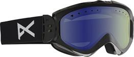 Anon Damen Snowboardbrille Majestic, Black/Blue Lagoon, 10763100004 - 1