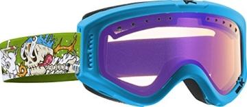 Anon Jungen Snowboardbrille Tracker, Crazybones/Blueamber, 10768101354 - 1