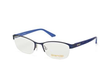 Brendel 902130 70, Trapezoid Brillen, Dunkelblau