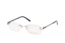 Brendel 902135 00, Rectangle Brillen, Silber