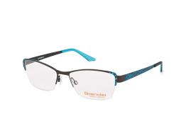 Brendel 902149 60, Rectangle Brillen, Hellblau