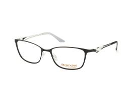 Brendel 902156 10, Trapezoid Brillen, Schwarz