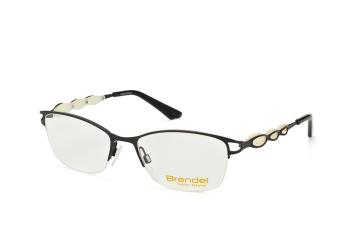 Brendel 902160 10, Trapezoid Brillen, Schwarz