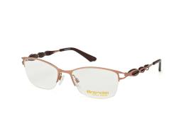 Brendel 902160 20, Trapezoid Brillen, Braun