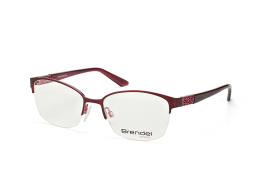 Brendel 902182 50, Oval Brillen, Rot
