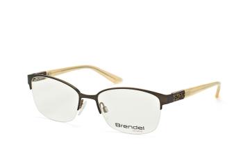 Brendel 902182 60, Oval Brillen, Weiss