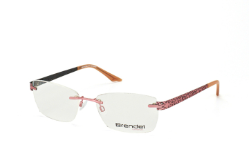 Brendel 902188 60, Trapezoid Brillen, Rosa