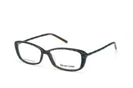 Brendel 903025 60, Rectangle Brillen, Schwarz