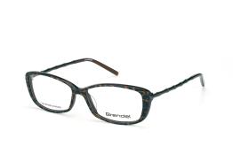 Brendel 903025 60, Rectangle Brillen, Schwarz