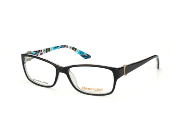Brendel 903029 10, Rectangle Brillen, Schwarz