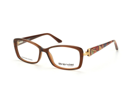 Brendel 903033 60, Rectangle Brillen, Braun