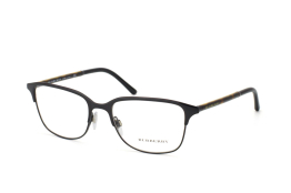 Burberry BE 1250 1001, Oval Brillen, Braun