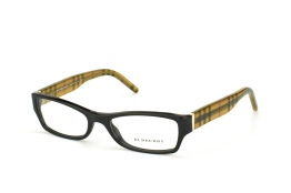 Burberry BE 2094 3001, Trapezoid Brillen, Schwarz