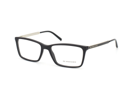 Burberry BE 2126 3001, Rectangle Brillen, Schwarz