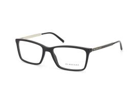 Burberry BE 2126 3001, Rectangle Brillen, Schwarz