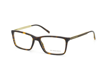 Burberry BE 2126 3002, Rectangle Brillen, Braun