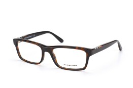 Burberry BE 2138 3397, Rectangle Brillen, Schwarz