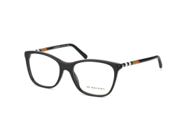 Burberry BE 2141 3001, Trapezoid Brillen, Schwarz
