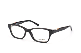 Burberry BE 2144 3001, Rectangle Brillen, Schwarz