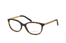 Burberry BE 2148 Q 3002, Oval Brillen, Goldfarben
