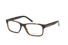 Burberry BE 2150 3002, Rectangle Brillen, Schwarz