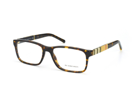 Burberry BE 2162 3002, Rectangle Brillen, Braun