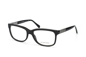 Burberry BE 2164 3001, Oval Brillen, Schwarz
