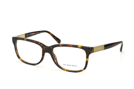 Burberry BE 2164 3002, Oval Brillen, Braun