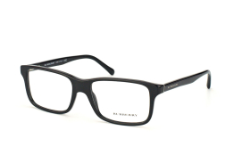 Burberry BE 2165 3001, Trapezoid Brillen, Schwarz