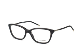 Burberry BE 2170 3001, Trapezoid Brillen, Schwarz