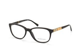 Burberry BE 2172 3001, Oval Brillen, Schwarz