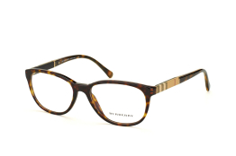 Burberry BE 2172 3002, Oval Brillen, Braun