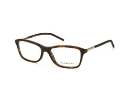 Burberry BE 2174 3002, Oval Brillen, Braun
