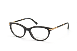 Burberry BE 2177 3001, Oval Brillen, Schwarz