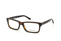 Burberry BE 2187 3002, Rectangle Brillen, Braun