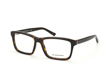 Burberry BE 2188 3002, Rectangle Brillen, Braun