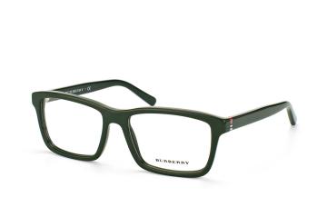Burberry BE 2188 3515, Rectangle Brillen, Grün
