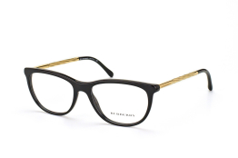 Burberry BE 2189 3001, Oval Brillen, Goldfarben