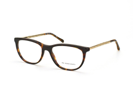 Burberry BE 2189 3002, Oval Brillen, Goldfarben