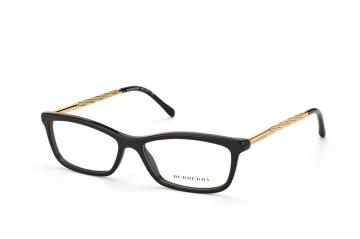 Burberry BE 2190 3001, Oval Brillen, Goldfarben