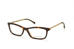 Burberry BE 2190 3002, Oval Brillen, Goldfarben
