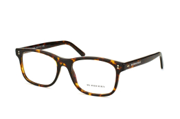 Burberry BE 2196 3002, Rectangle Brillen, Havana