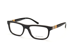 Burberry BE 2197 3001, Rectangle Brillen, Braun