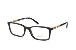 Burberry BE 2199 3001, Rectangle Brillen, Braun