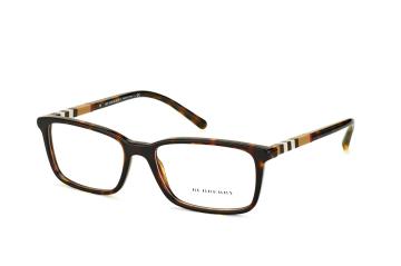 Burberry BE 2199 3002, Rectangle Brillen, Havana