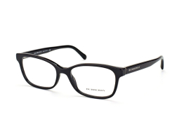 Burberry BE 2201 3001, Oval Brillen, Schwarz