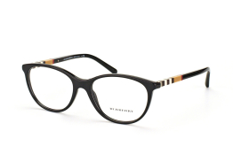 Burberry BE 2205 3001, Oval Brillen, Braun