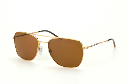 Burberry BE 3079 1052/83, Aviator Sonnenbrillen, Beige